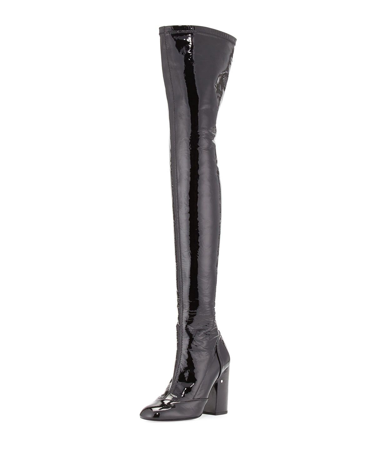 06d4a1ae3aa LAURENCE DACADE Madison Patent Over-The-Knee Boot.  laurencedacade  shoes   all