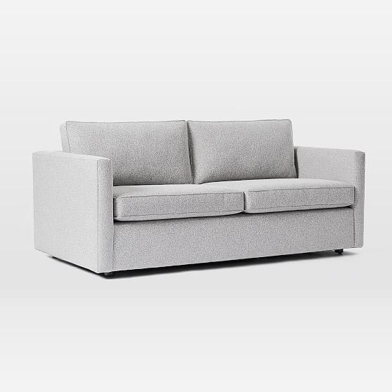 Terrific Harris Sleeper Sofa Poly Astor Velvet Dusty Blush Pabps2019 Chair Design Images Pabps2019Com