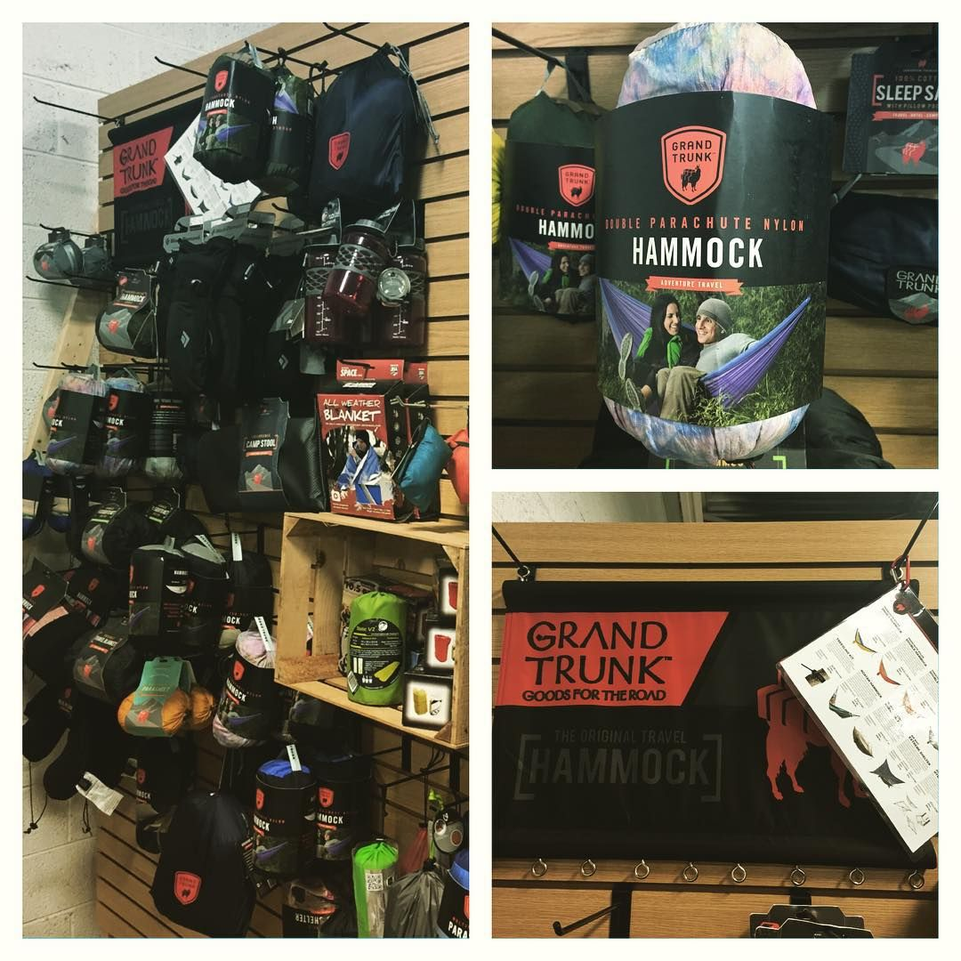 #camping season is upon us. #checkout the #awesome #grandtrunk selection #thewarmingstore #winter #campingtrip #camp
