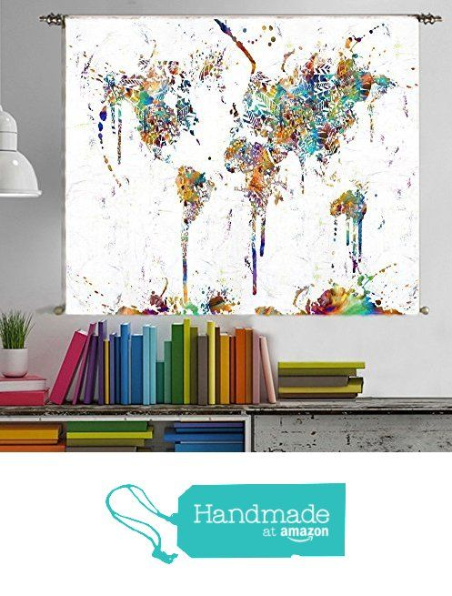Wall Tapestry Wall Hanging Urban Outfitters Large World Map Tapestry - Large world map wall hanging