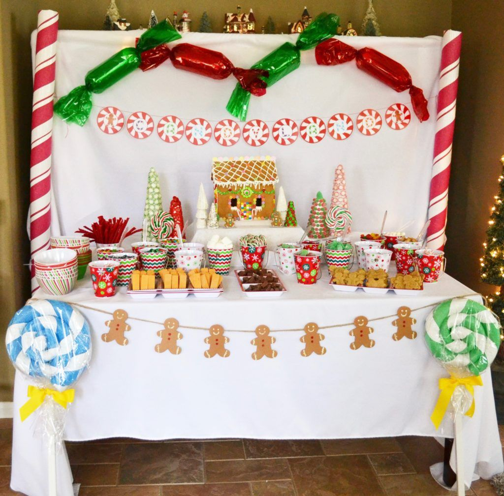 Candy Land Christmas Party Christmas party themes, Adult