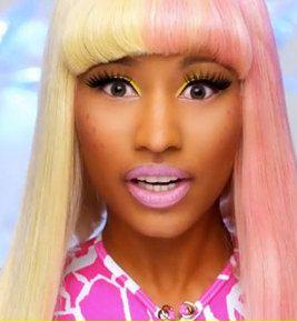 Halloween Wig Nicki Minaj Pink And Blonde Wig Nicki Minaj
