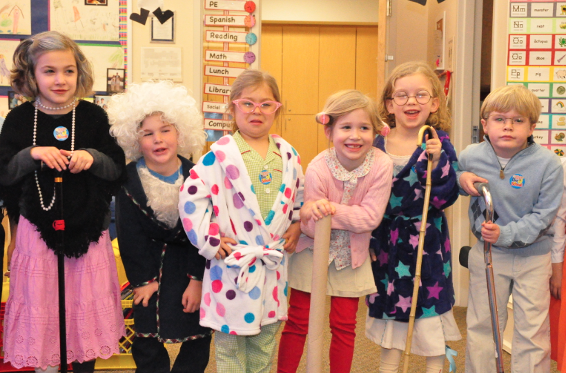 Dress Up Like You Re 100 Years Old 100thdayofschool Old Lady Costume Kids Costumes Girls Dress Up Day