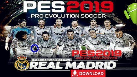 140988d70 Download Latest PES 2019 New Patch Real Madrid Team – Pro Evolution Soccer  2019 Mod Apk