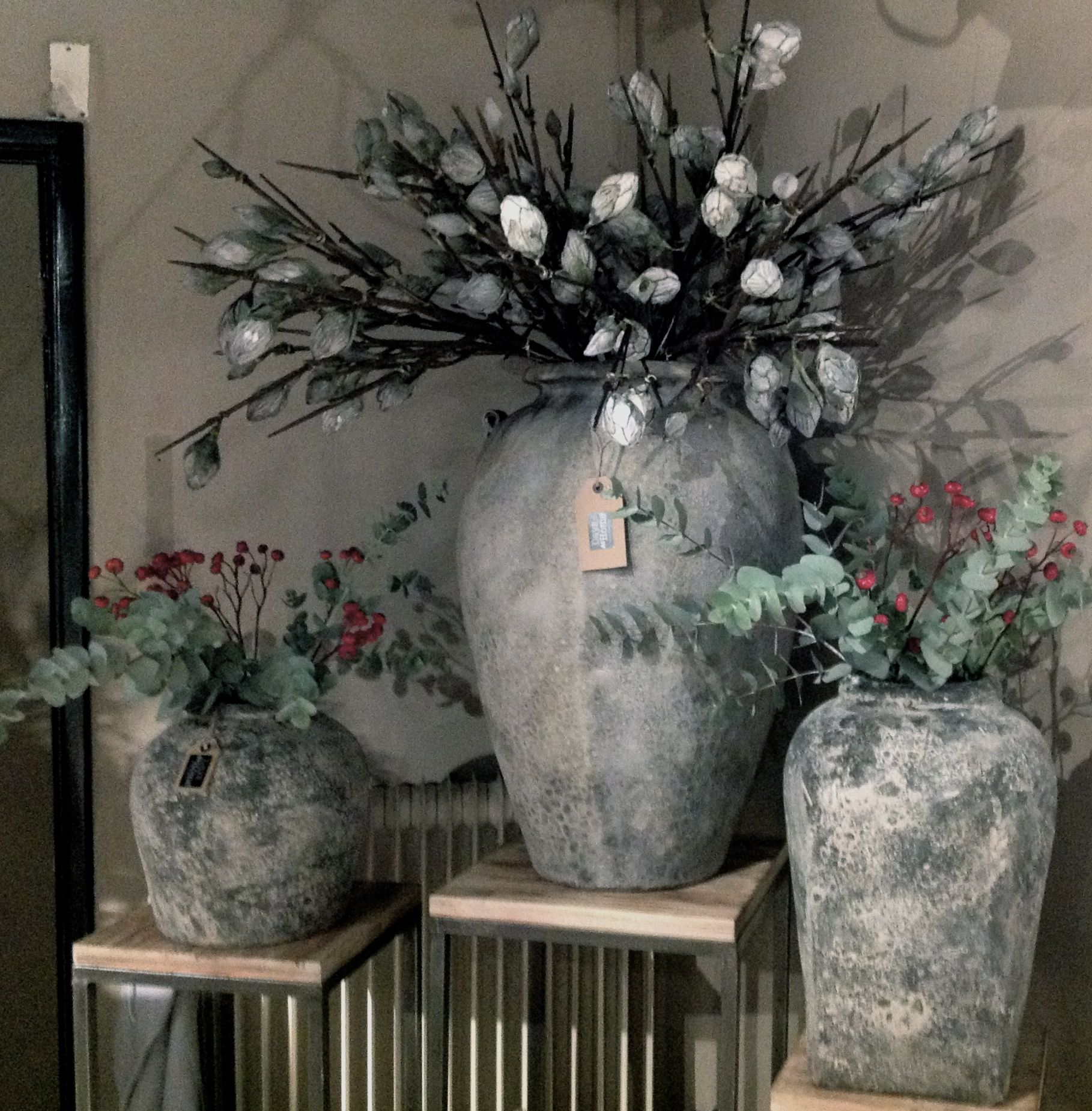 Grote Pot Woonkamer Stoere Vazen En Potten Days At Home Pinterest Potten