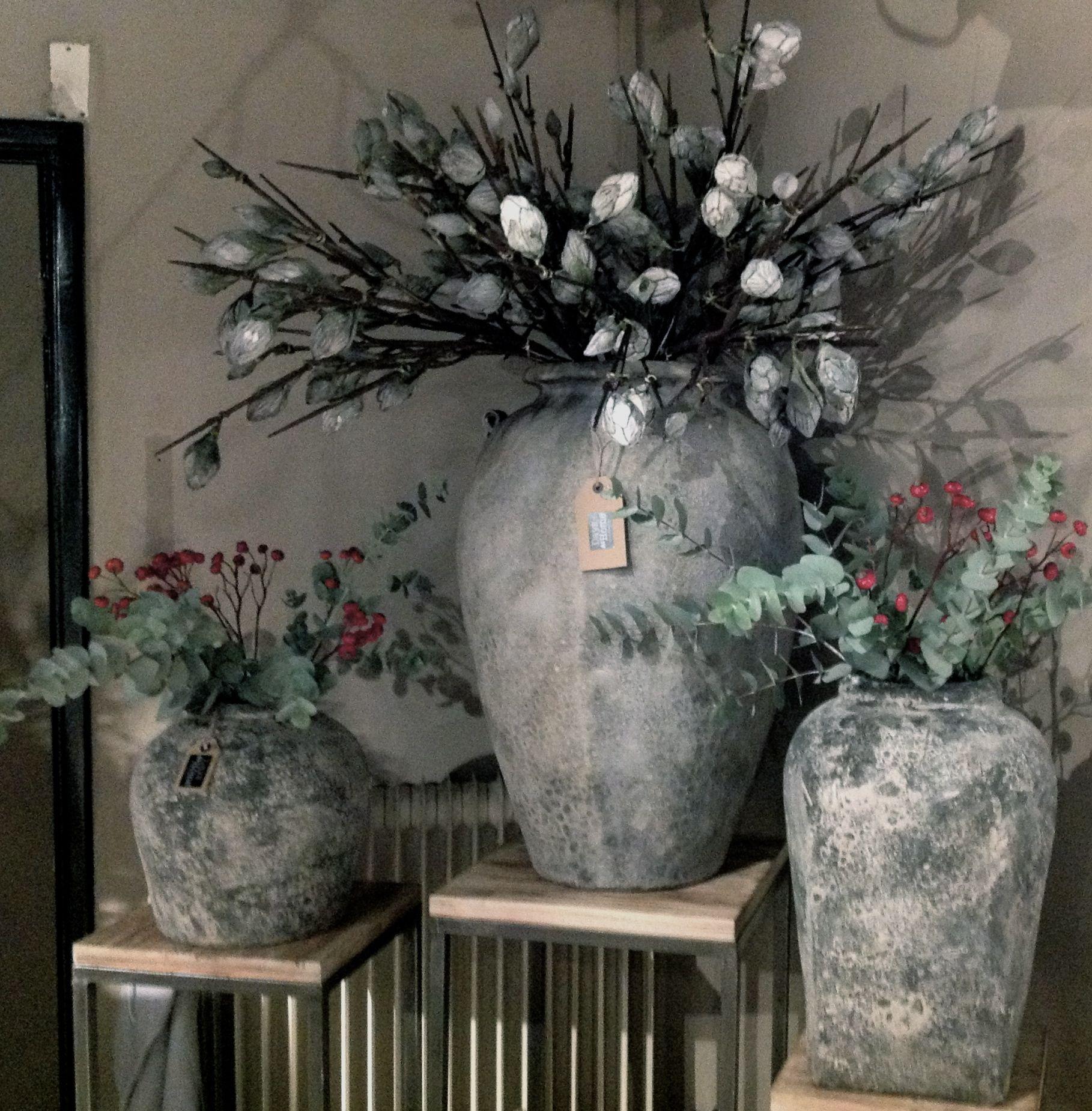 Stoere vazen en potten days at home pinterest deco for Potten en vazen