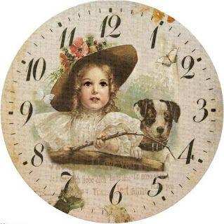 AMARNA IMAGENS: FUNDOS PARA RELÓGIO - Tema: crianças vintage