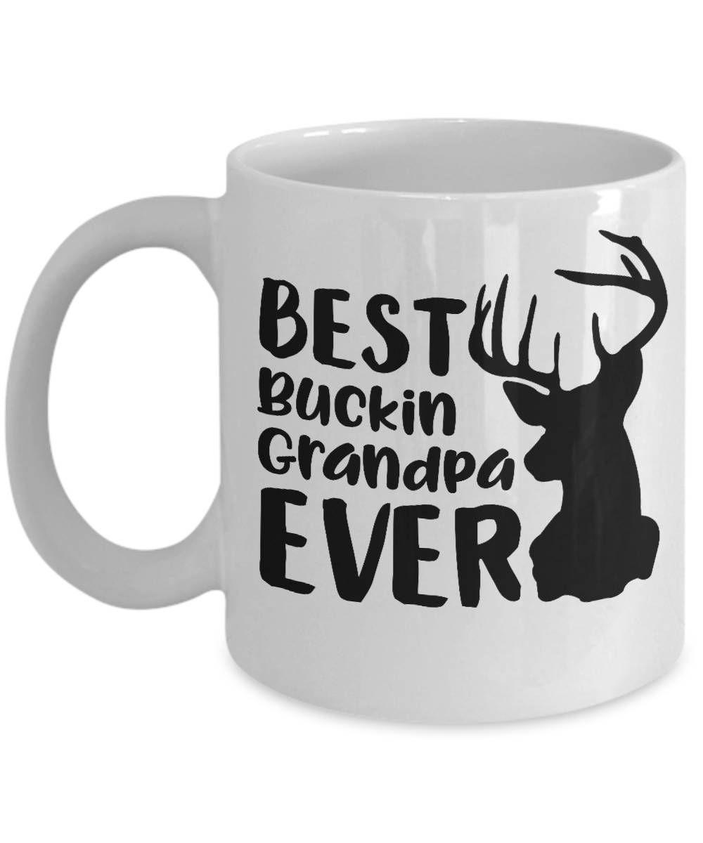 Grandpa Gifts Hunting Camo Best Buckin/' Papa Ever Coffee Mug Tea Cup