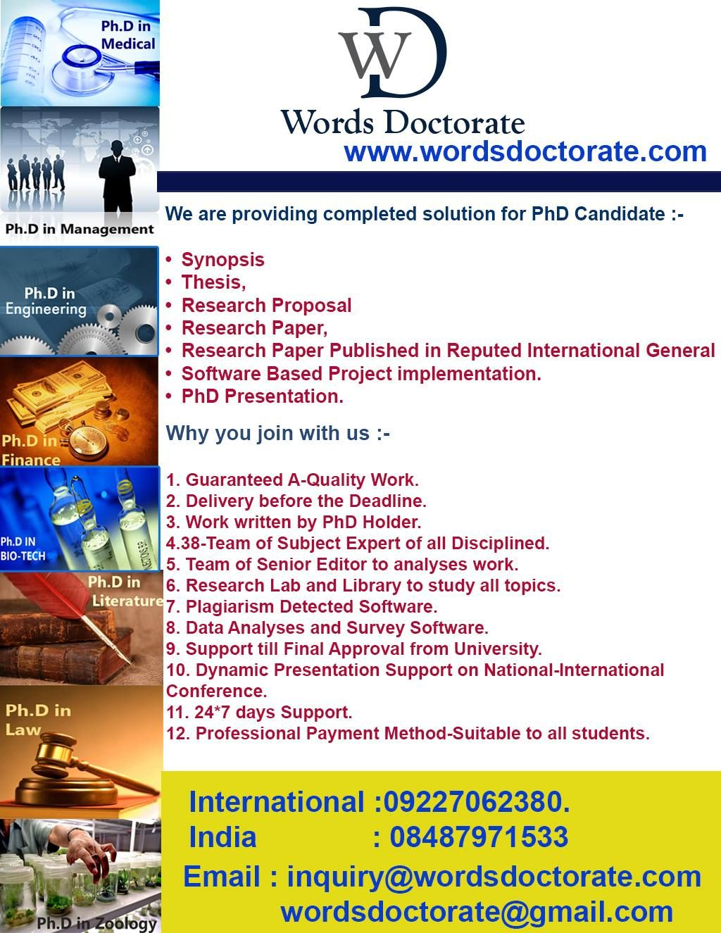 Proposal writing companies in india