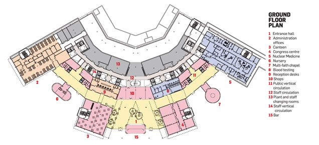 La Spezia Hospital Ground Floor Plan Places To Visit