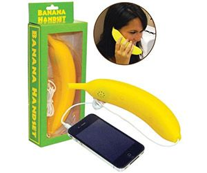 Ring, ring, ring, ring, Banana Phone. Now people can look at you like you're crazy and have a reason for doing so. Show that hobo who's boss.