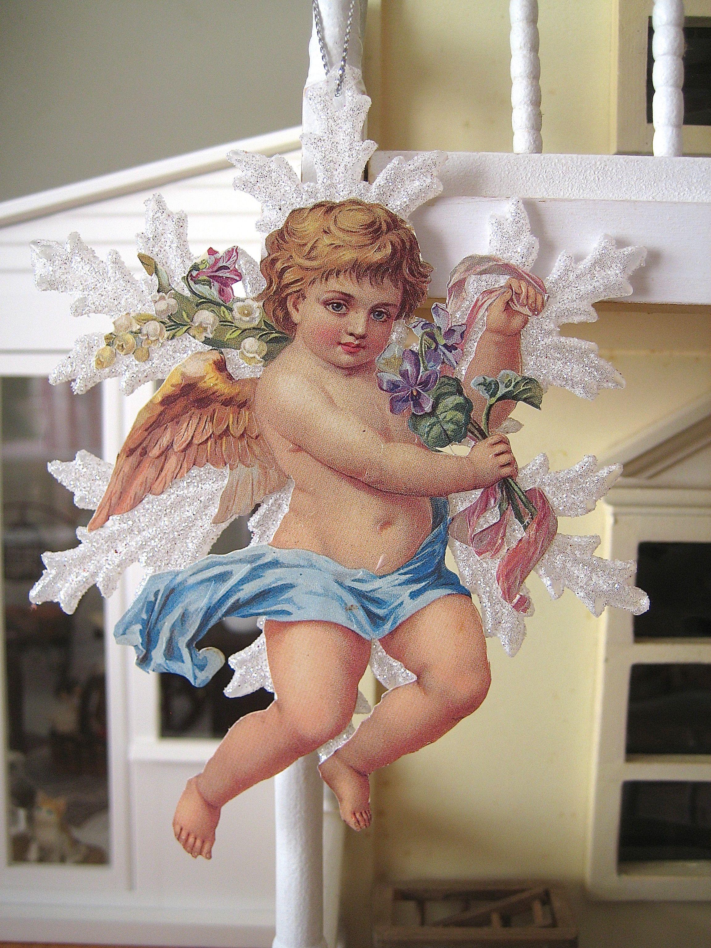 Linho e Alfazema: Christmas angel