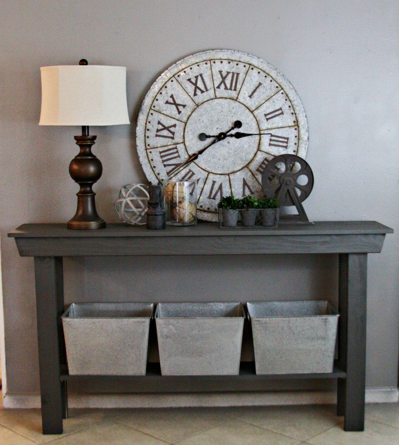 This Listing Is For One Custom Farmhouse Entry Table Sized 6 Foot