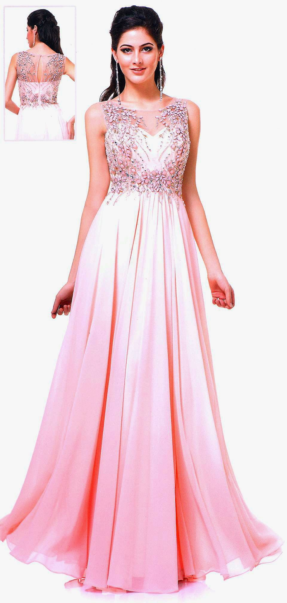 Prom dresses evening dresses ucbrueucbruesheer scoop neckline over