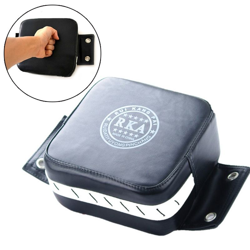 PU Leather Wall Boxing Focus Target Punch Pad Wing Chun Punching Training Bag