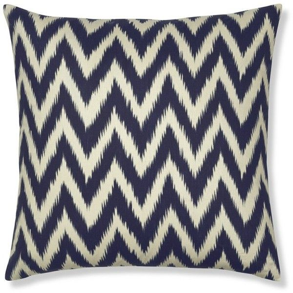 Pure silk lends refinement to a pattern inspired by ancient ikat textiles. The bold zigzags are softened by ikat's signature feathered edges, for a look that's...