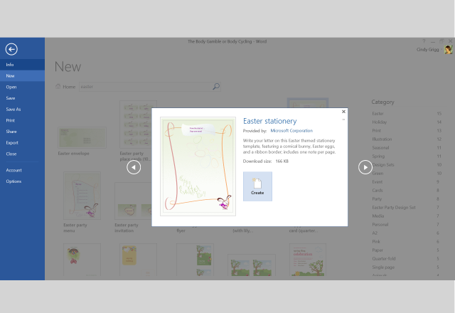 Lighten Up Your Easter Preparation with Templates for Microsoft ...