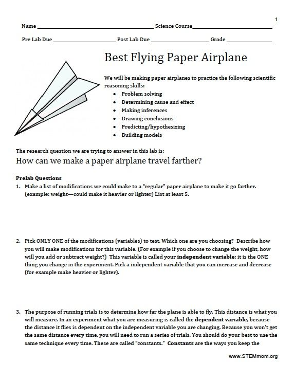 Science Skills Worksheets Answers   Science   Pinterest ...