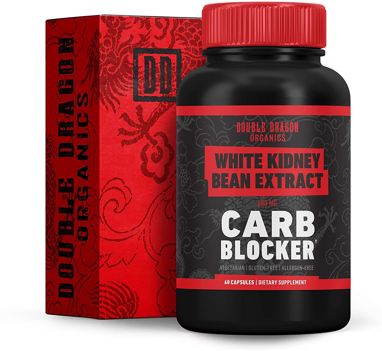 Amazon Com White Kidney Bean Extract 100 Pure Carb Blocker Keto Carb Blocker Double Dragon Or White Kidney Bean Extract White Kidney Beans Carb Blocker