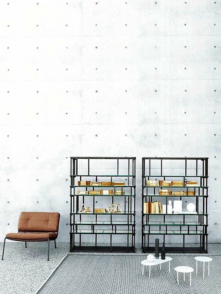 Living Divani, made in Italy: Off Cut bookcase by Nathan Yong. Frog ...