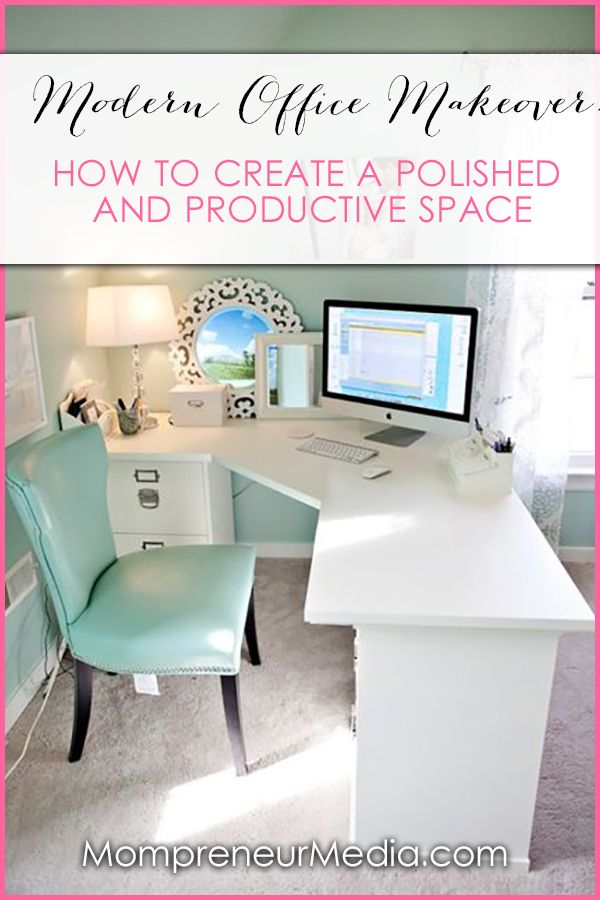 An office with modern and inspiring décor is a must. Here are some ideas for creating a chic and sleek office space perfect for conquering the world.