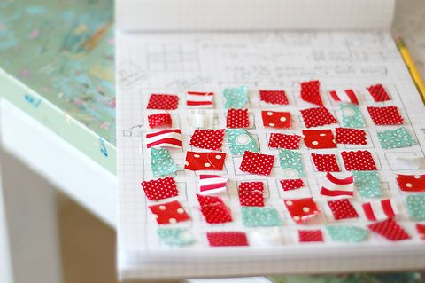 quilt planning by kelly mccaleb, via Flickr