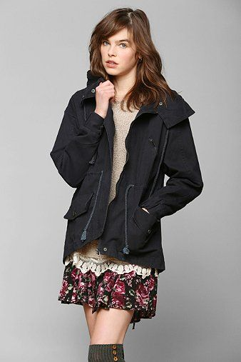 Margot Hooded Oversized Parka