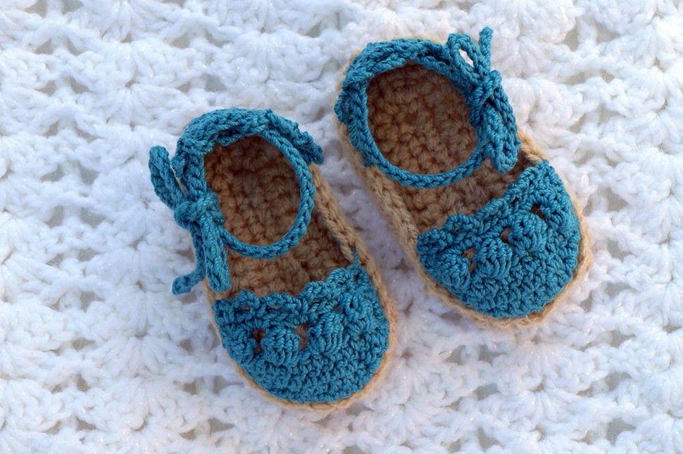 Vintage Baby Crochet Sandals | Crochet | Pinterest