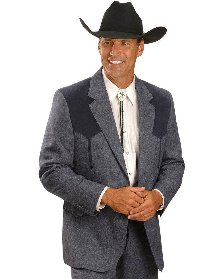 Circle S Boise Western Suit Coat Short, Reg, Tall