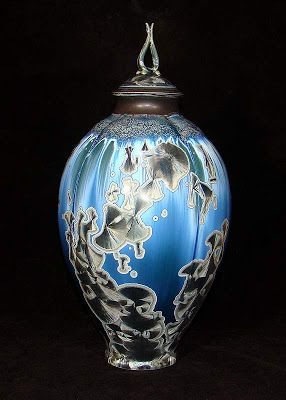Invited Artists Phil Hamling And Ian Childers Cristalls2013 International Crystalline Glaze Convention 2013 Pottery Jars Pottery Art Ceramic Sculpture