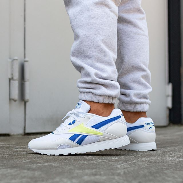 89c1f082fc17e Reebok Rapide MU (White   Vital Blue   Lemon) in 2019