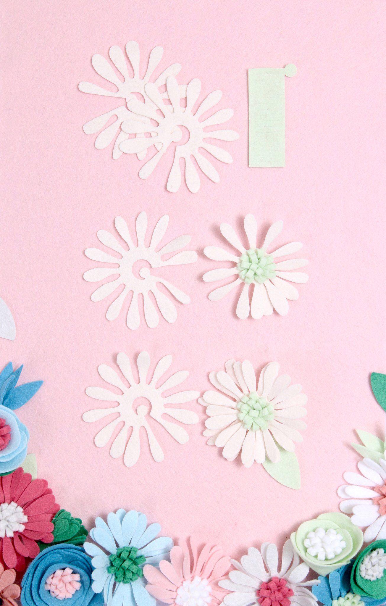 Tutorials Flower Diy Benzie Design With Images Felt Flowers
