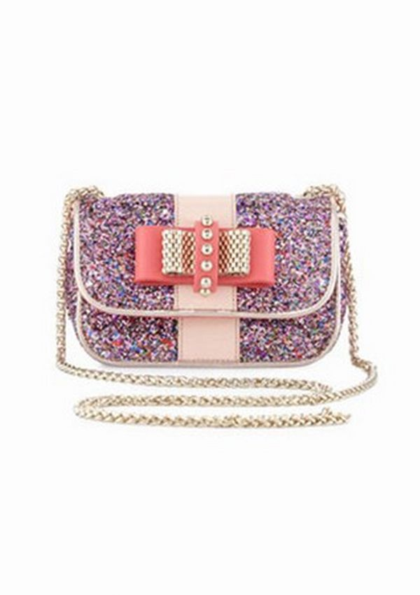 0c721f71010 Sweet like candy - Christian Louboutin Sweet Charity Glitter Crossbody Bag  ( 1