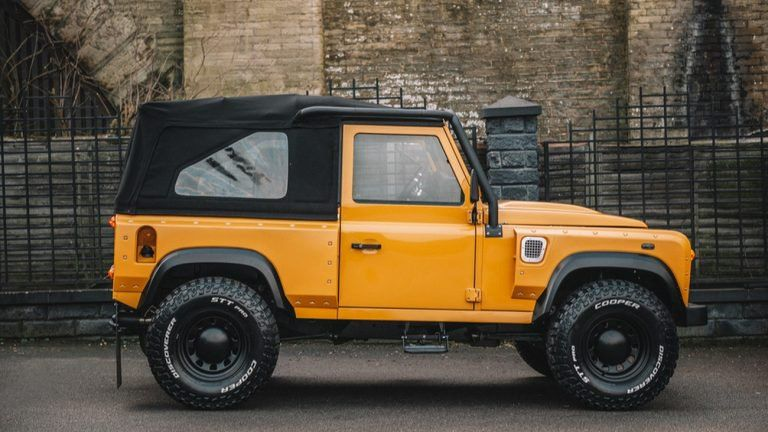 Chelsea Truck S Defender Homage 2 Puts On A Retro Face And Wide