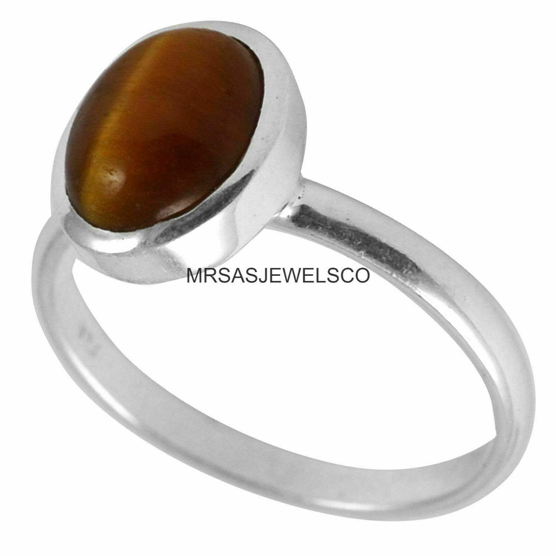 Handmade Ring,Designer Ring Band Ring Gemstone Ring Desinger Ring 925 Sterling Silver Women Ring Gift For Her Tiger Eye/'s Stone Ring
