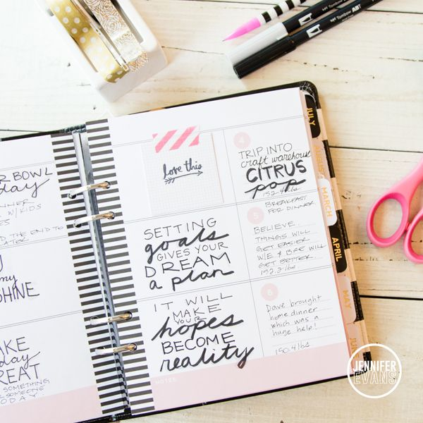Heidi Swapp Memory Planner Pages