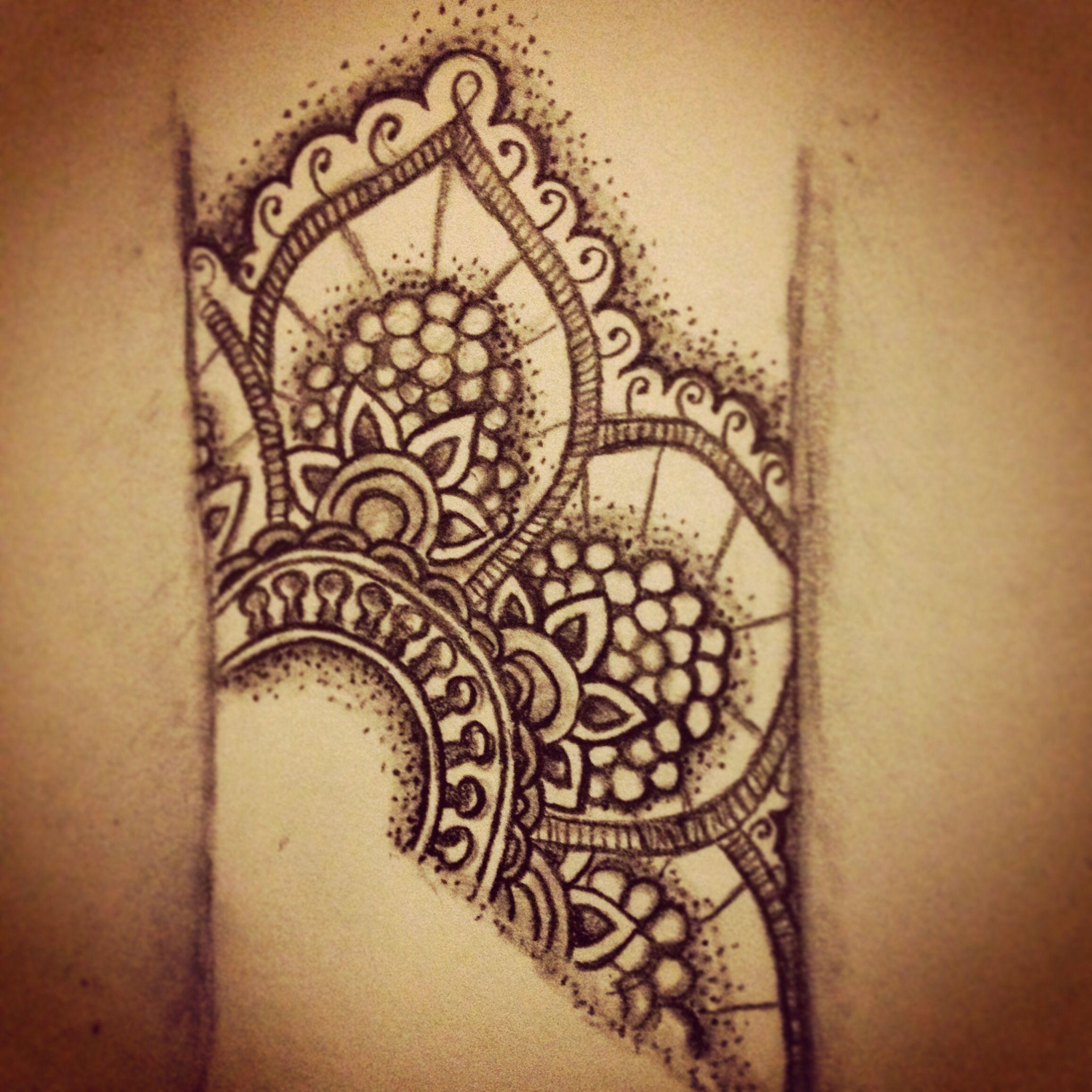 Wrist Cuff Lace Mandala Mehndi: Mandala Wrist Tattoo, Cuff Tattoo