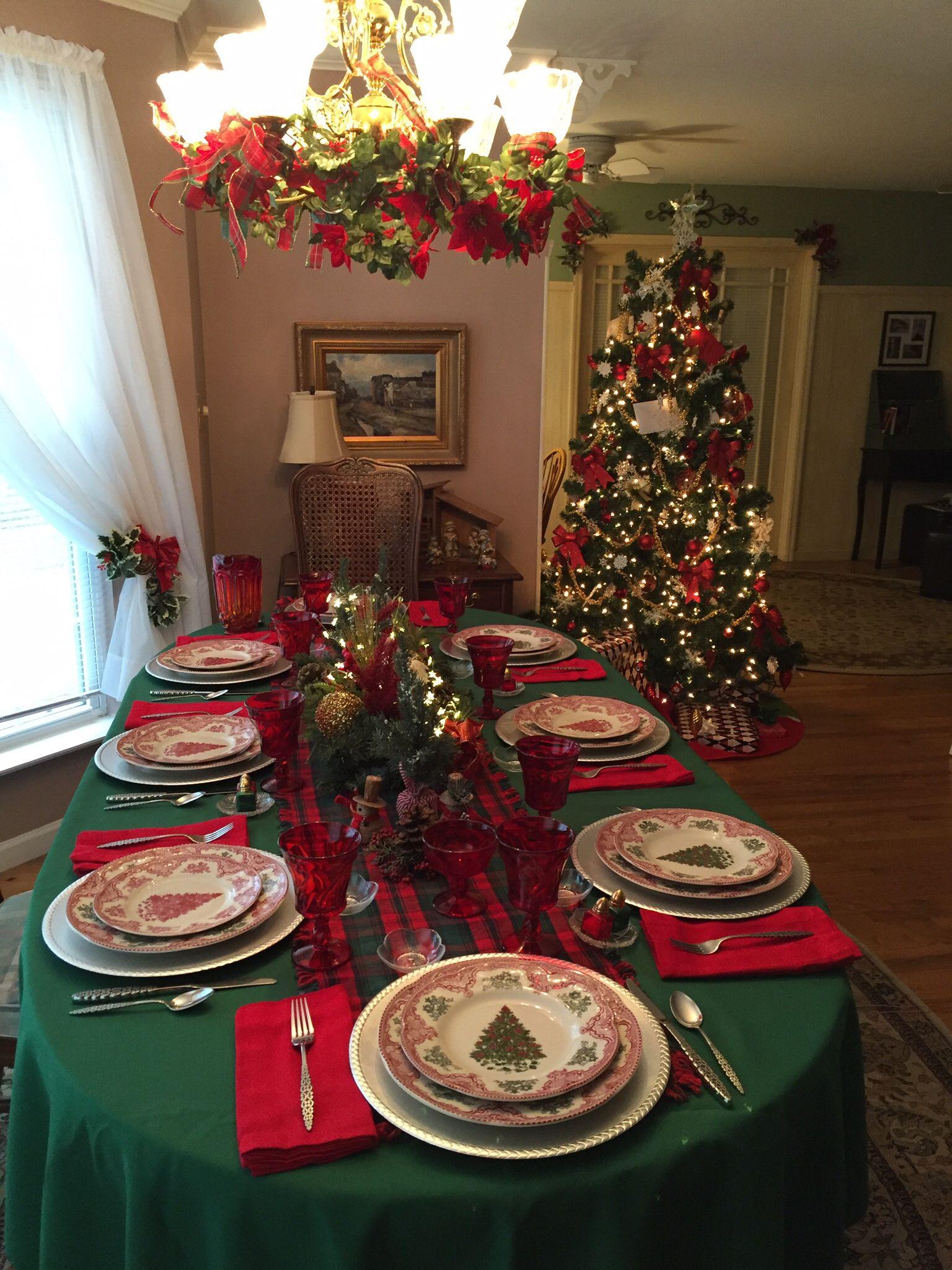 Christmas   Christmas table, Christmas home, Decorating with