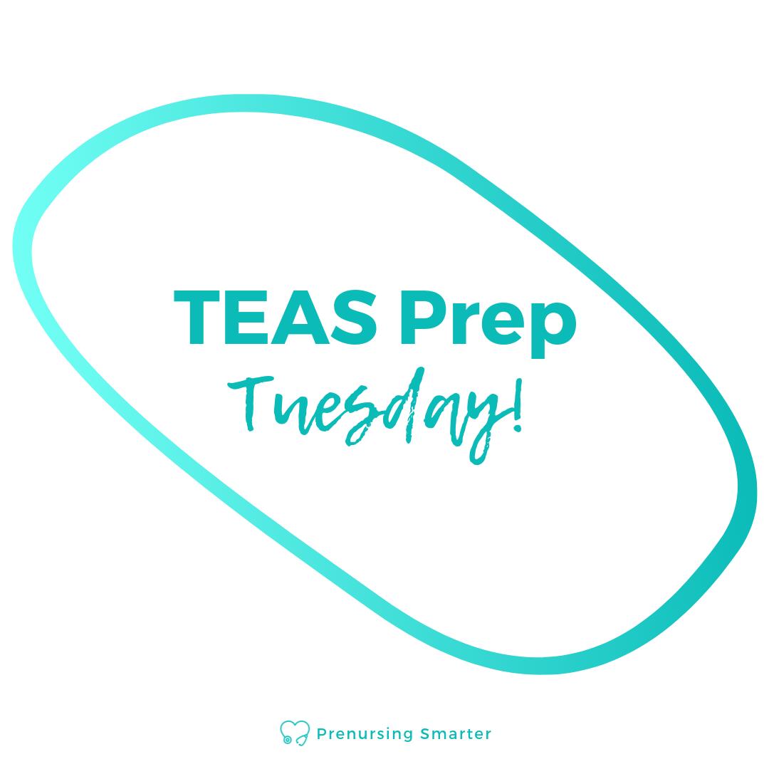 Follow me on Instagram to get fresh TEAS practice