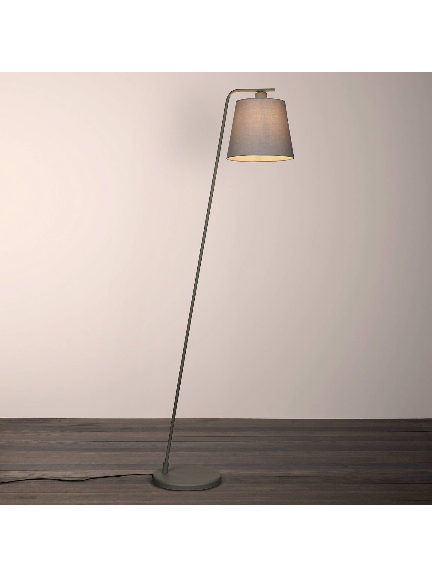House by John Lewis Harry Floor Lamp, Grey  Floor lamp, Flooring