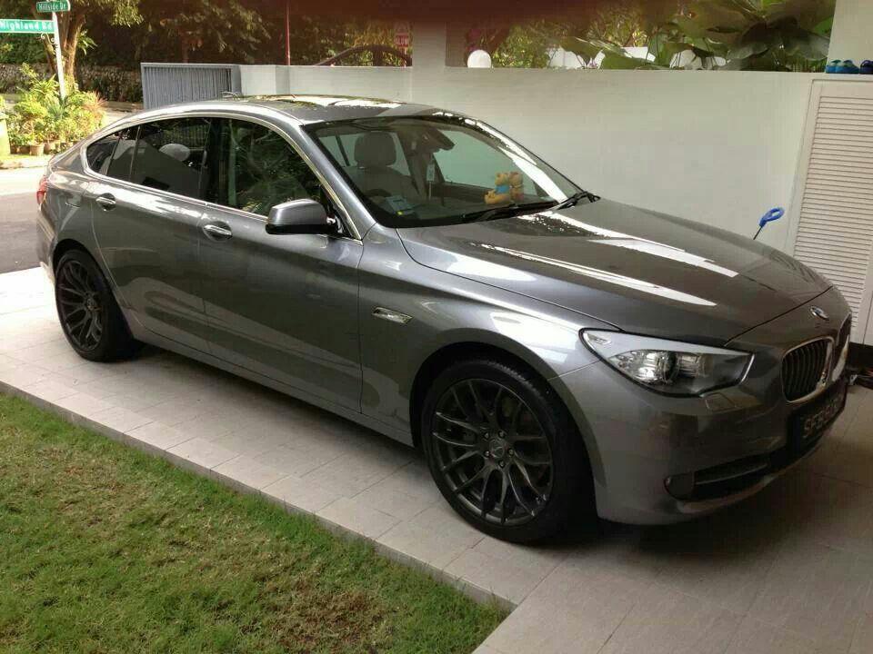 BMW F07 5 series GT grey BMW Ultimate Driving Machine
