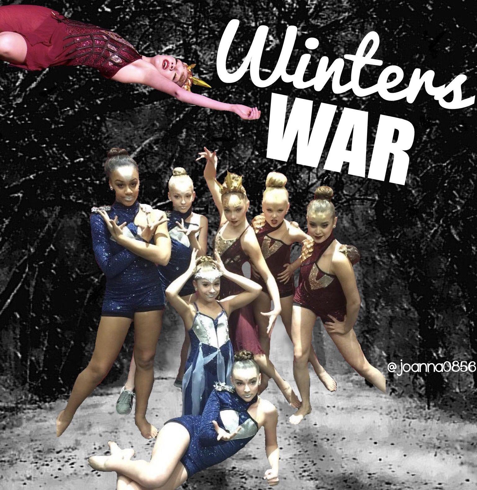 Winters War Made By Joanna0856 I M Mackenzie Dance Moms Winters Dance