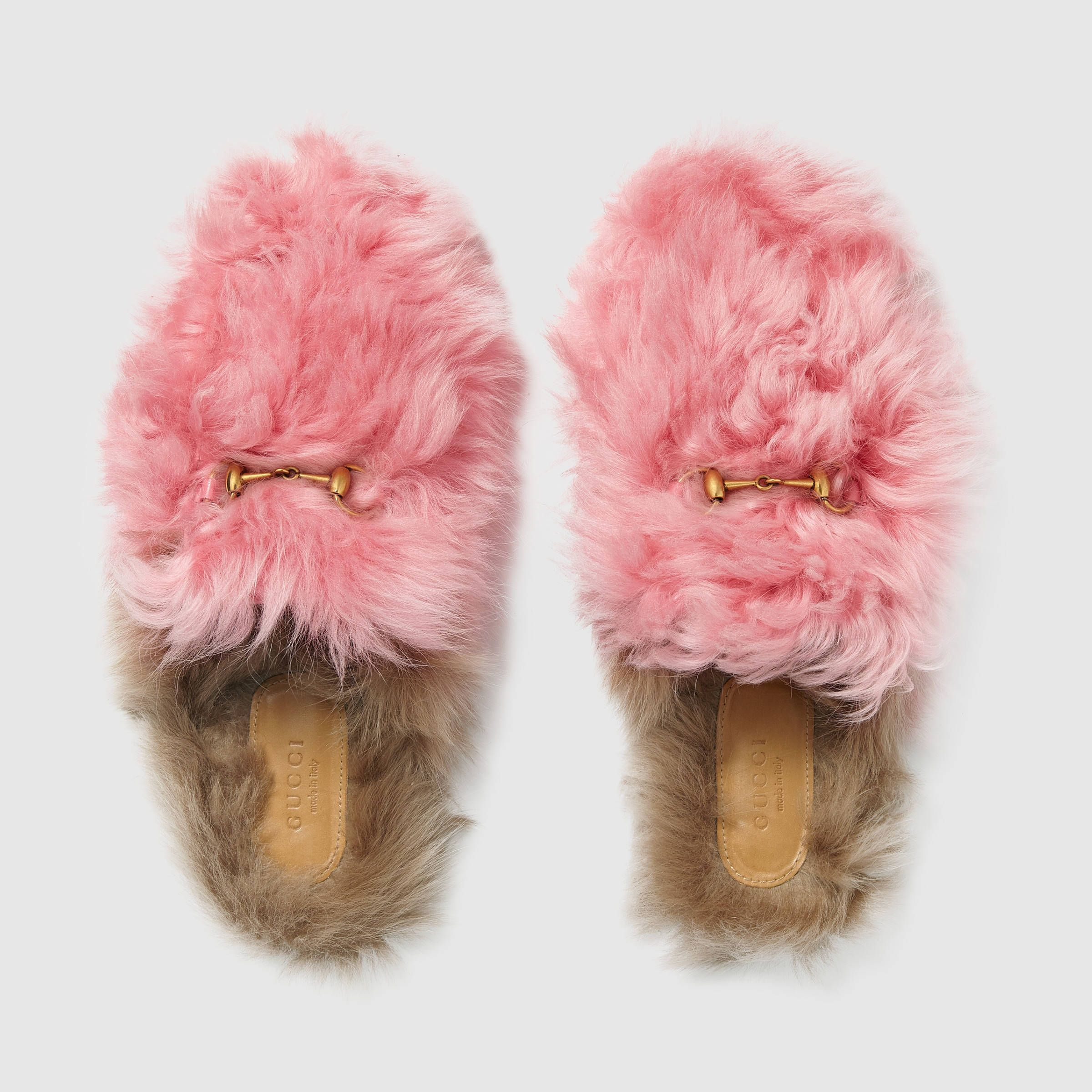 10384823de3 Gucci Princetown merino wool slipper