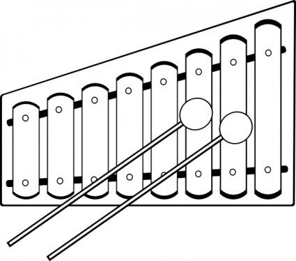 Xylophone Clip Art Download Kids Xylophone Coloring Pages Xylophone