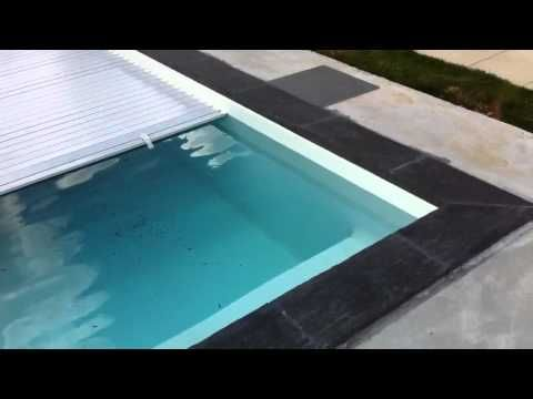 Volet Roulant Piscine Youtube Small Swimming Pools Swimming