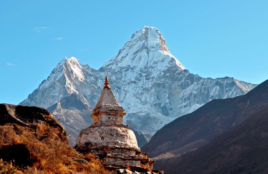 Ama Dablam Peak Nepal 4k Ultra Hd Wallpaper 4k Wallpaper Net Everest Hram Tibet