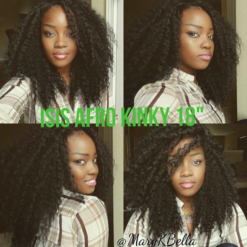 Isis afro kinky