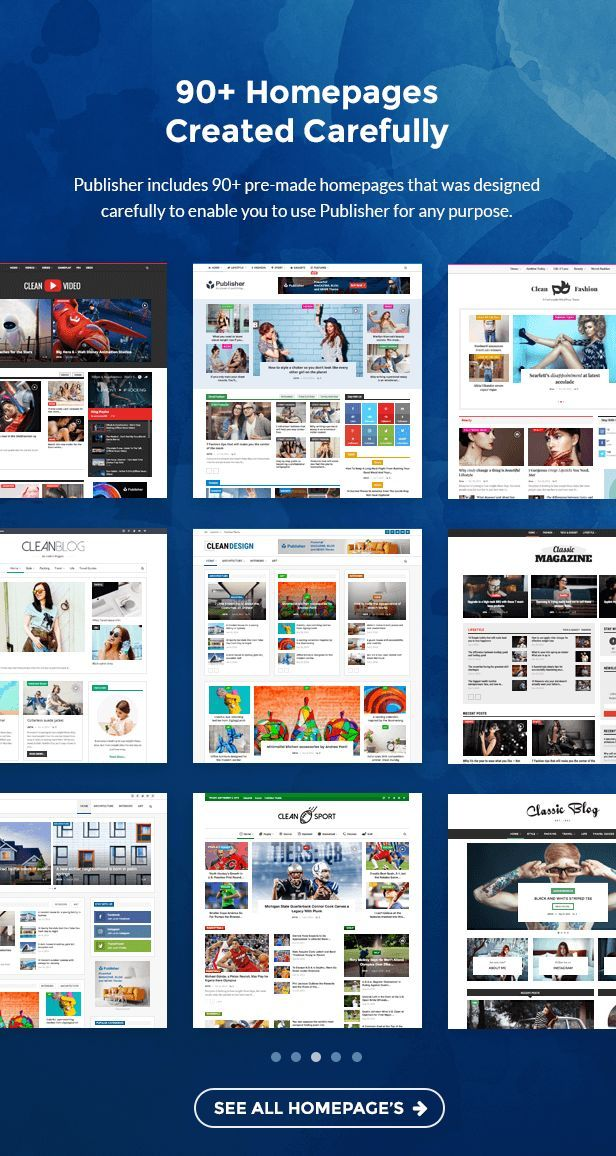 Publisher Magazine Blog Newspaper And Review Wordpress Theme