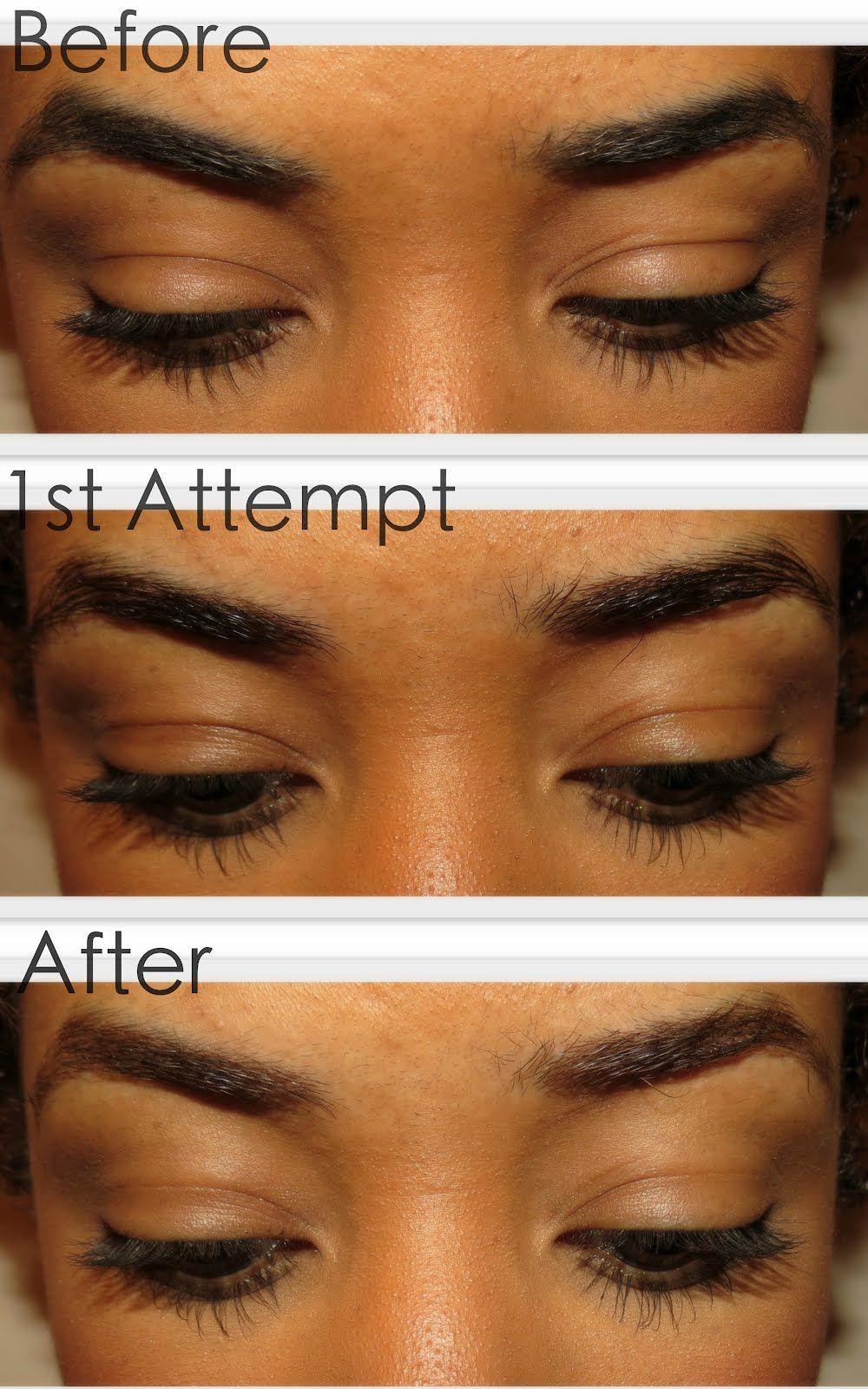 How to lighten your eyebrows