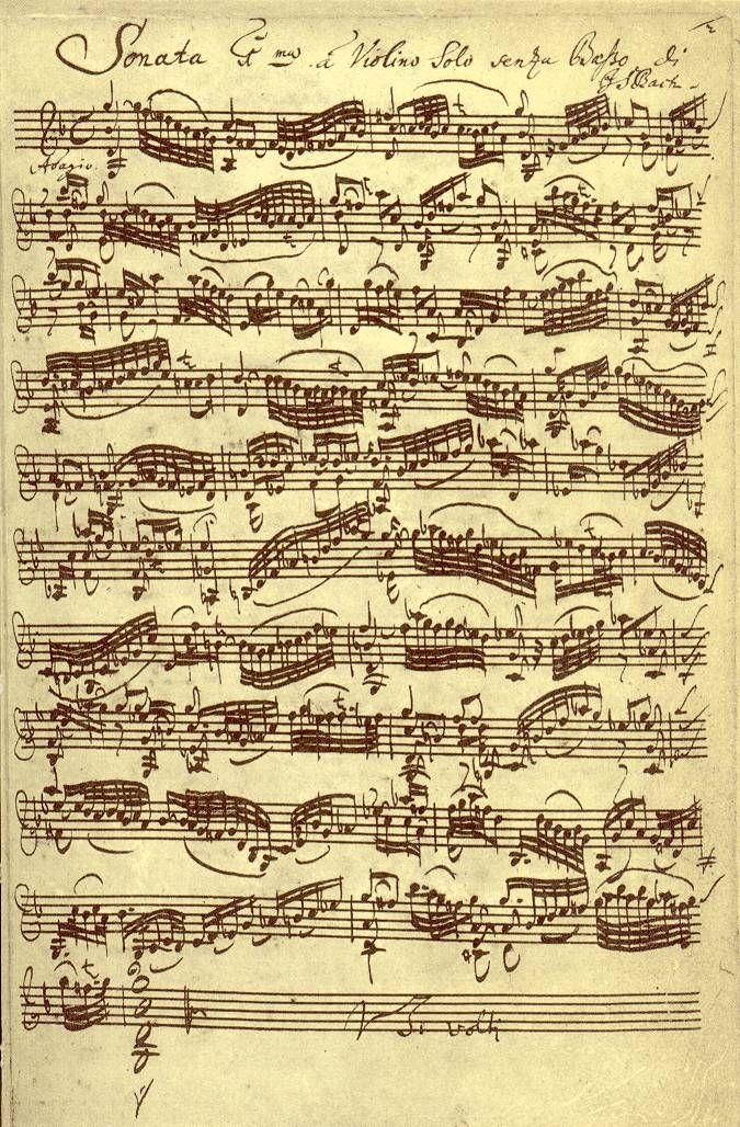 Sonata Nº 1 para violín
